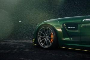 Fostla Mercedes-AMG GT S with ADV5.0 M. V2 CS Series Wheels