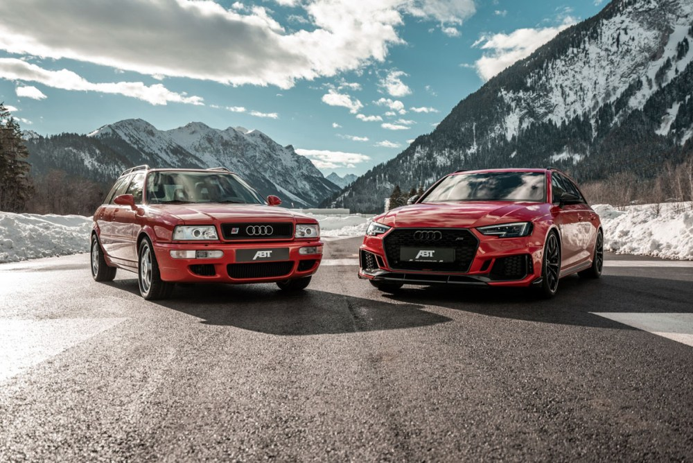 ABT Sportsline Audi RS2 and RS4+