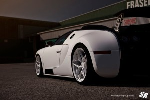 Bugatti Veyron Sang Noir PUR RS36 wheels by SR Auto Group