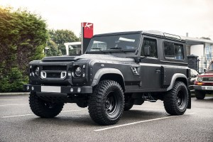 Chelsea Truck Company Land Rover Defender Coach built Flying Huntsman 105 Long Nose
