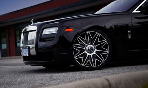 Rolls-Royce Ghost with PUR RS37.V2 Wheels