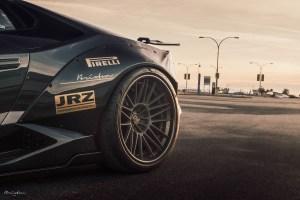 Liberty Walk Lamborghini Huracan with Brixton Forged VL7 Targa Series Wheels by MWDesign Technik
