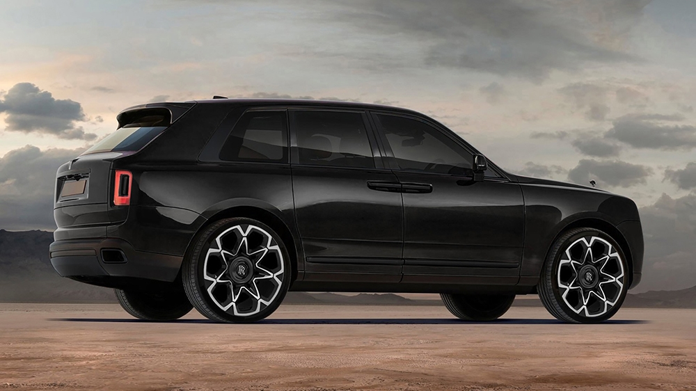 Rolls-Royce Cullinan Black Label Edition by Kahn Design