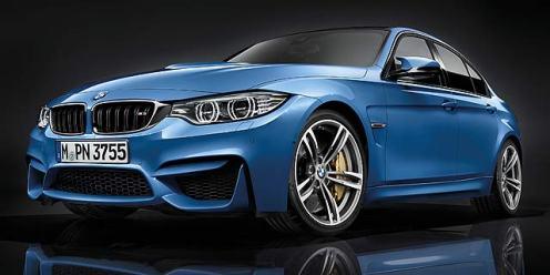 BMW M3 saloon 1