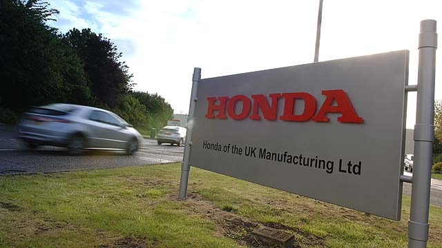 Honda Swindon Plant