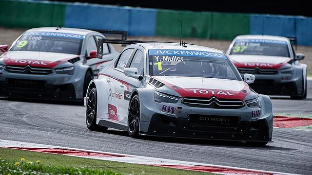 Citroen Racing WTCC C-Elysse