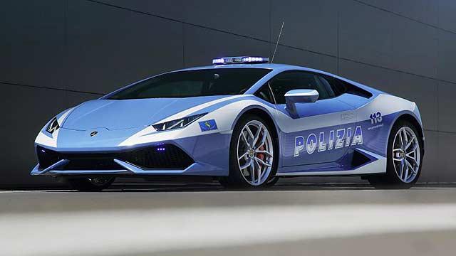 Lamborghini police Huracan
