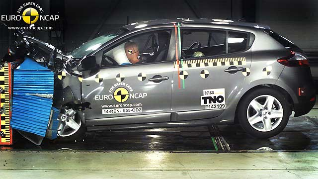 Euro NCAP Renault Megane