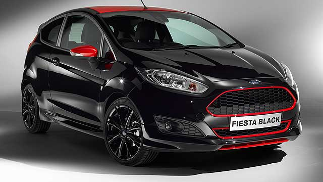 Ford Fiesta Black EcoBoost 140