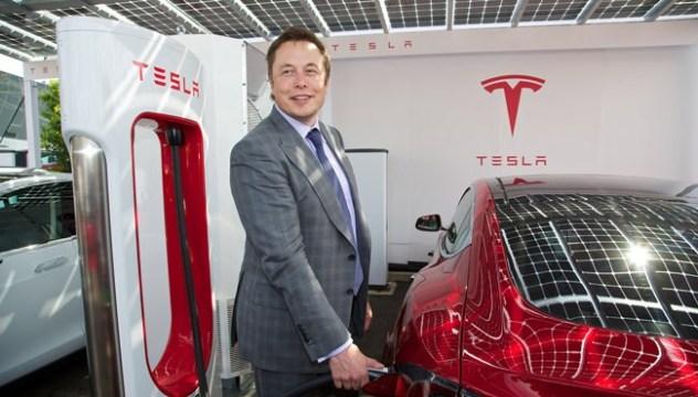 Tesla Elon Musk London