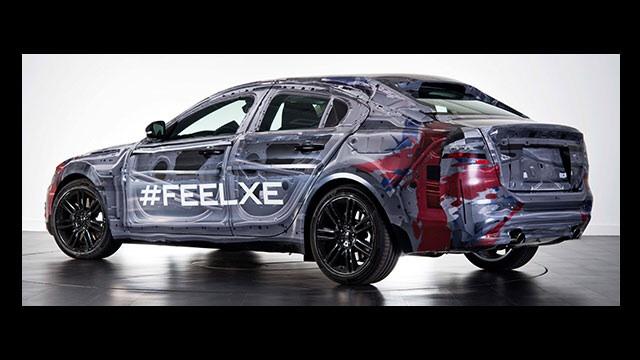Jaguar XE rear revealed