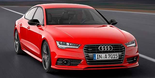 Audi A7 3.0 TDI competition