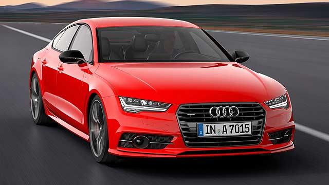 Audi A7 3.0 TDI competition
