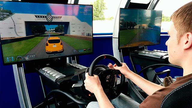 Real vs Virtual Ford Gran Turismo Goodwood FoS