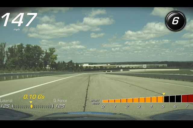 2015 Corvette Valet Mode 001