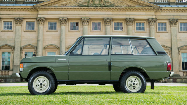 First production Range Rover auction