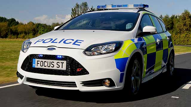 Ford-Focus-ST-Police