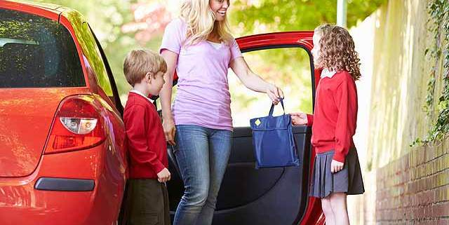 School run safety shock