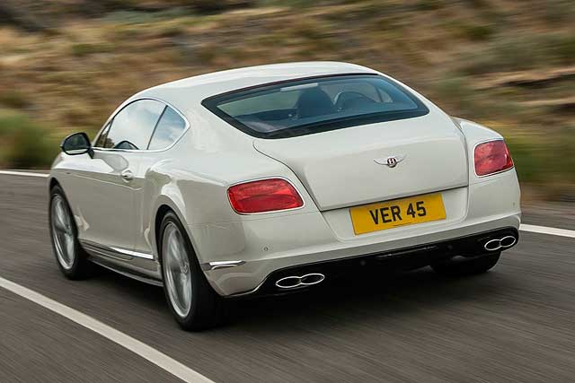 Bentley Continental GT V8 S Coupe