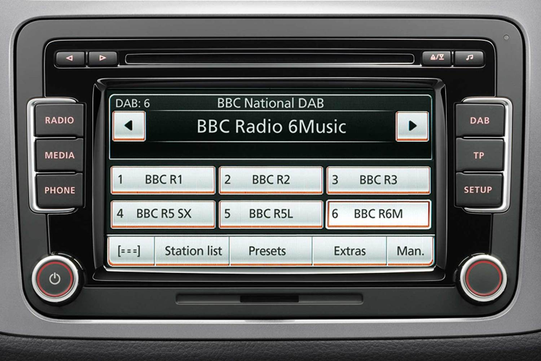VW DAB radio