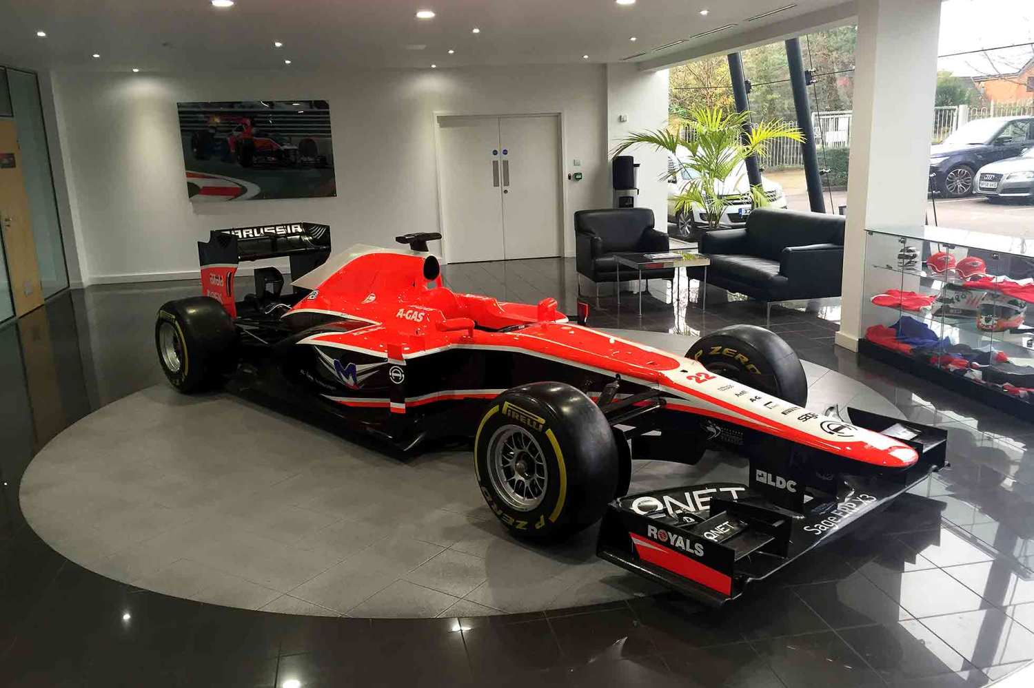 Marussia F1 auction