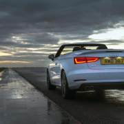 Audi A3 Cabriolet at night