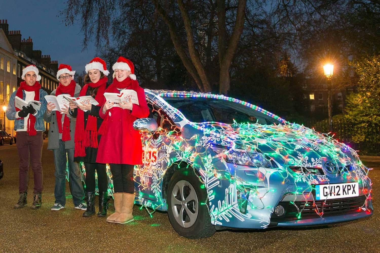 Festive Toyota Prius