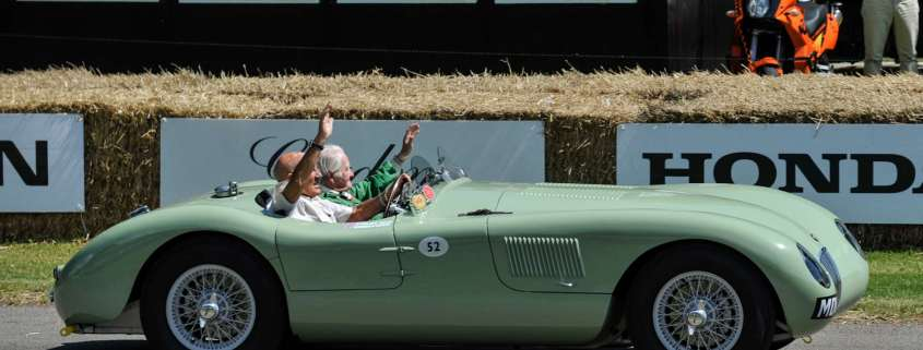 Jaguar test driver Norman Dewis awarded OBE in New Year Honours