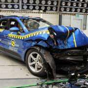 Porsche Macan Euro NCAP crash test