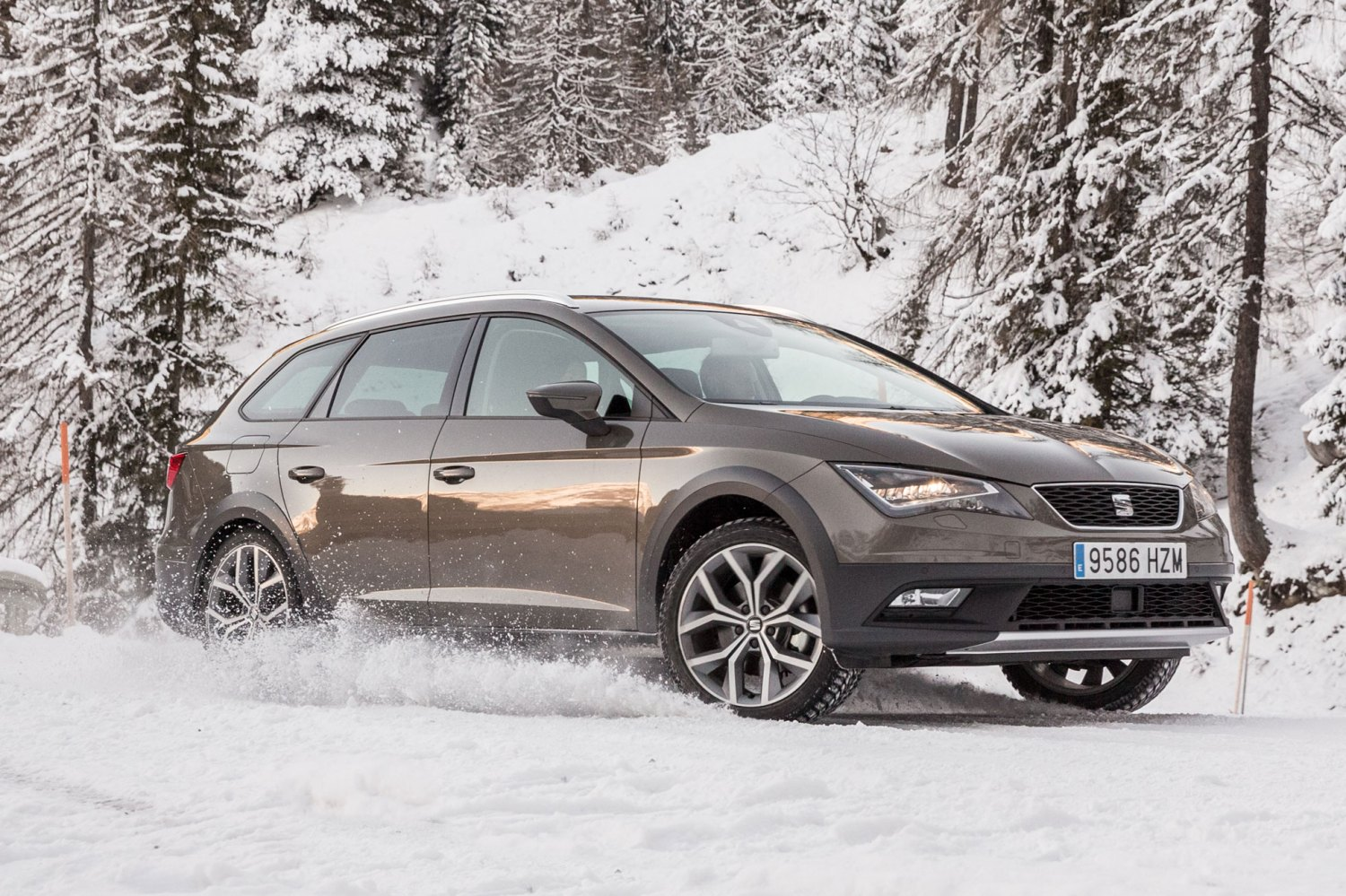The SEAT Leon X-Perience can practically drive itself