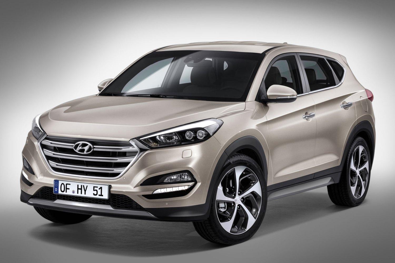 Hyundai reveals Tucson SUV ahead of Geneva 2015