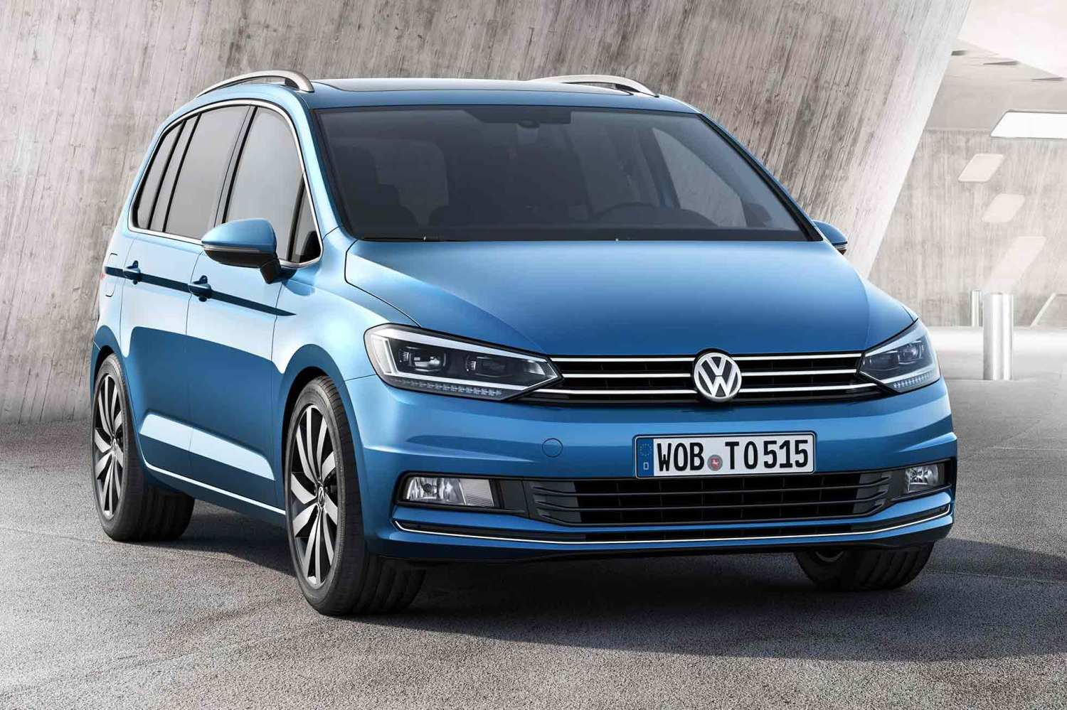 New Volkswagen Touran