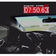 Honda Civic Type R Nurburgring record