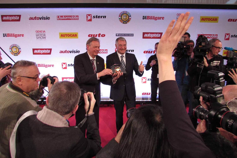 Volkswagen Passat is Car of the Year 2015
