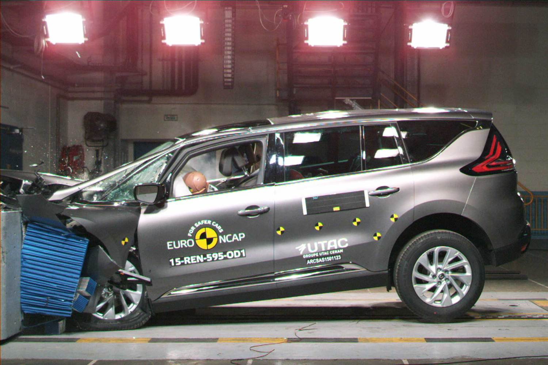 Renault Espace Euro NCAP 2015