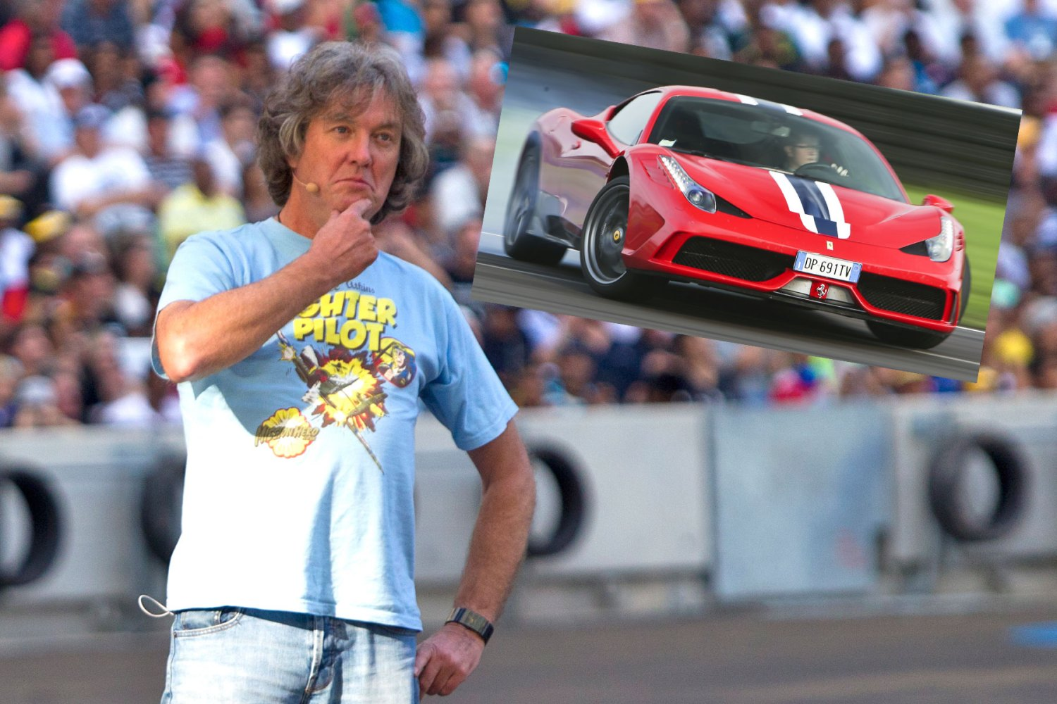 James May orders Ferrari 458 Speciale – then Clarkson punches a producer