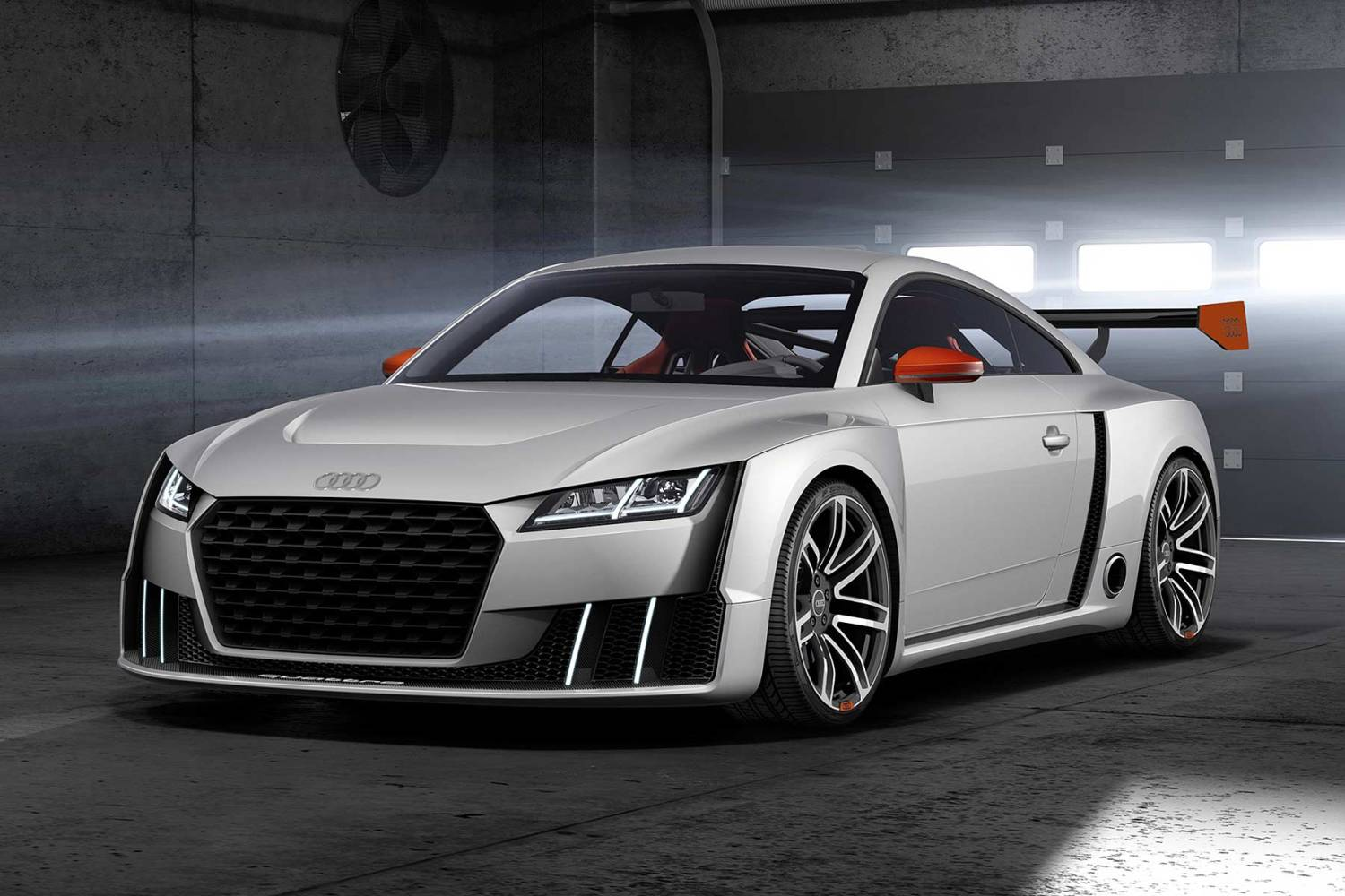 Audi TT Clubsport turbo concept Worthersee 2015