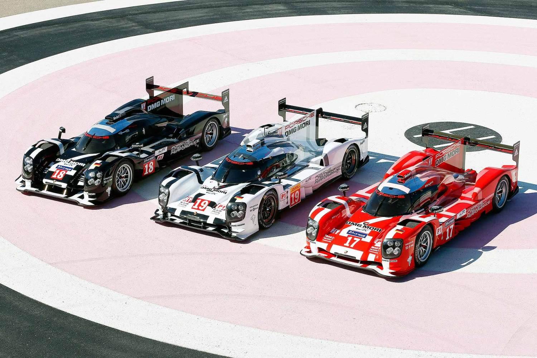 Porsche 919 Hybrid Le Mans 2015