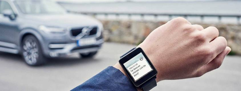 Volvo On Call app Apple Watch