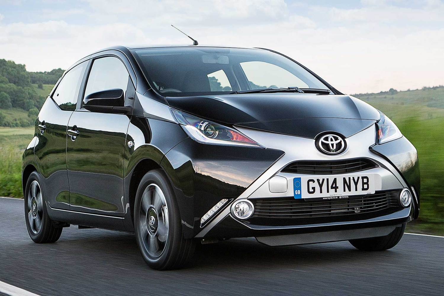The cheapest cars to insure for 17-18 year olds: Toyota Aygo