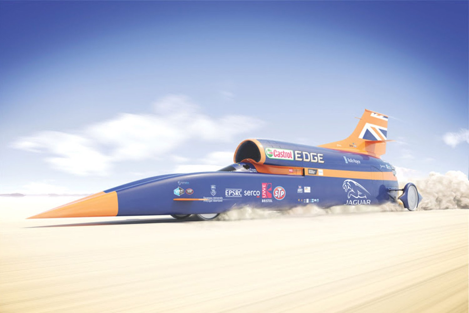 Bloodhound to be tested at 200mph in November... in Cornwall