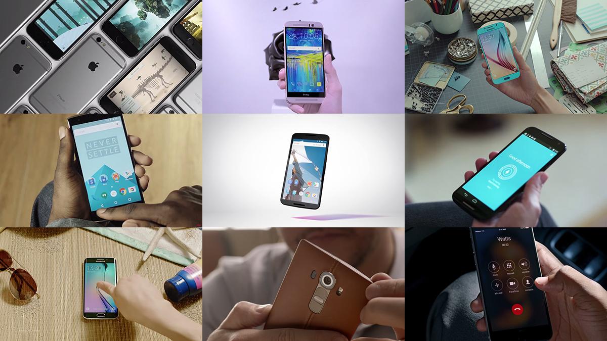 The best smartphones of 2015