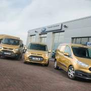 Ford Transit 2015 Golden Convoy