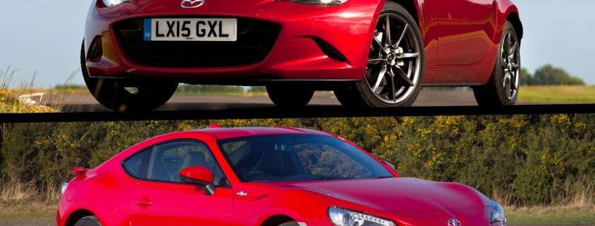 Mazda MX-5 versus Toyota GT86: 2015 twin test