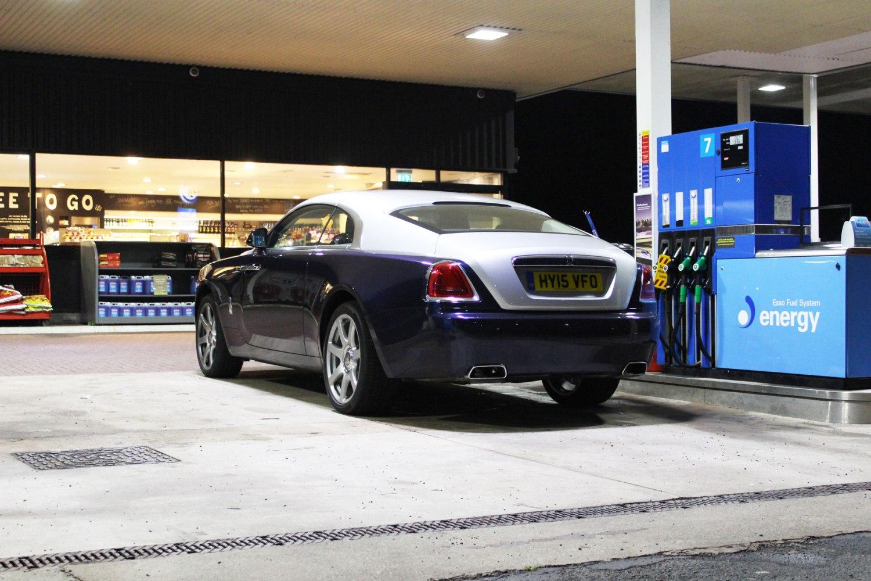 Rolls-Royce Wraith at Tebay