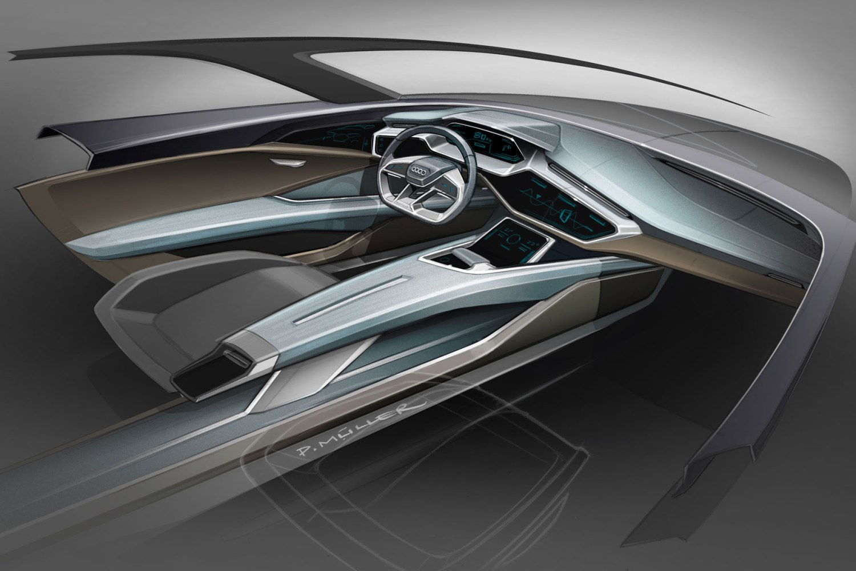 Audi reveals e-tron SUV concept with a range of 310 miles