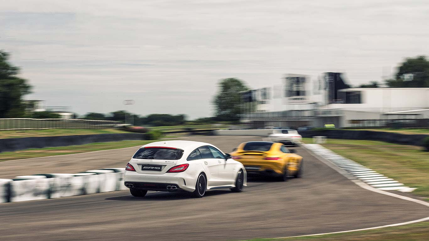 Mercedes-AMG at Goodwood 2015