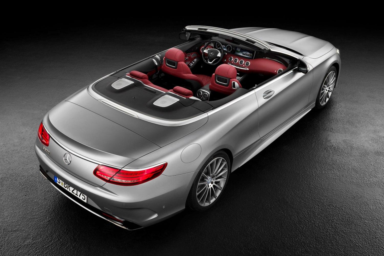Mercedes-Benz S-Class cabriolet revealed ahead of Frankfurt debut