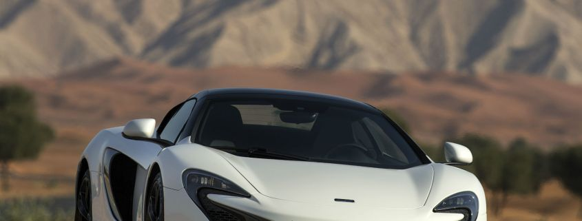 Solid gold – if a standard McLaren 650S is too ordinary, how about one with a gold-flaked paint job?