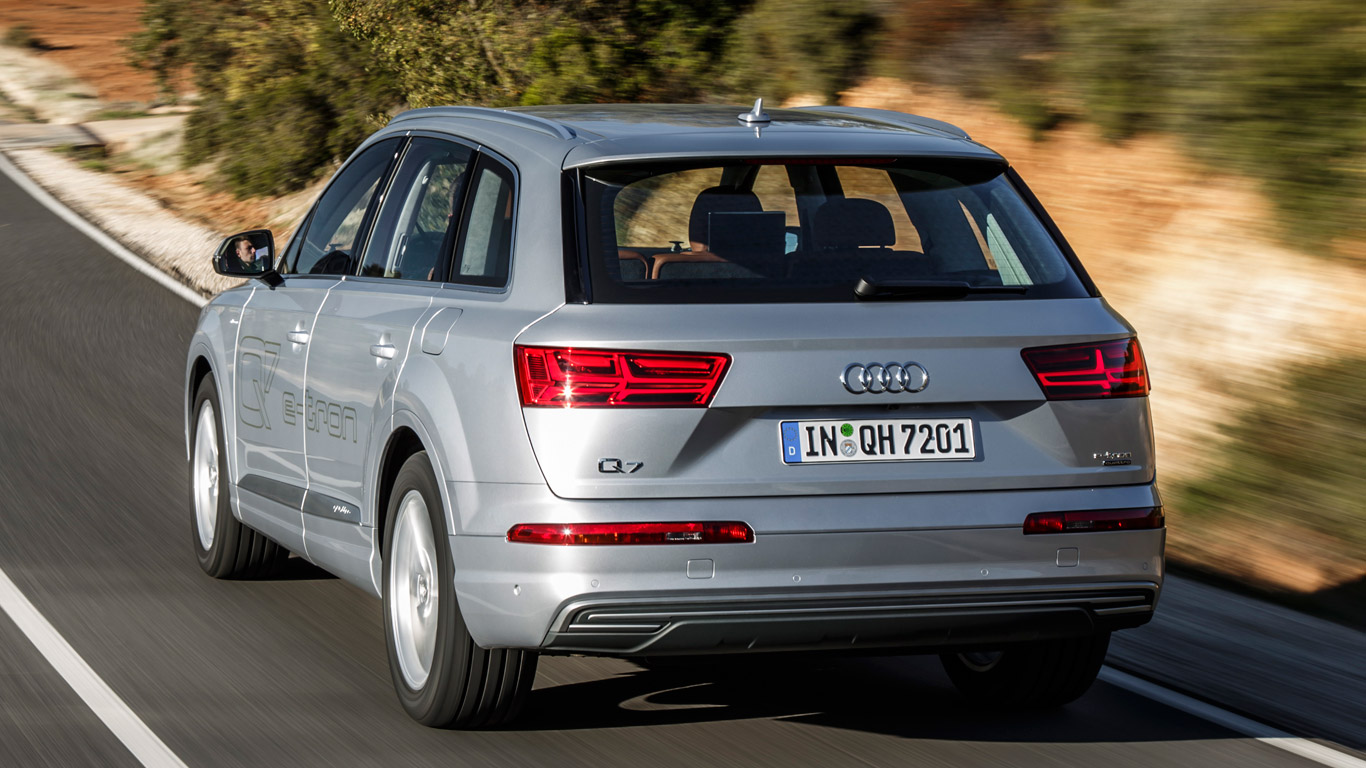 Audi Q7 e-tron: what's it like to drive?